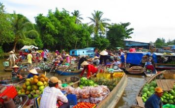 cai be floating market tour