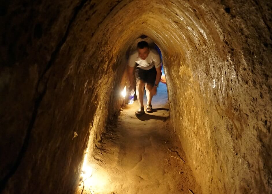 cu chi tunnel biking tour