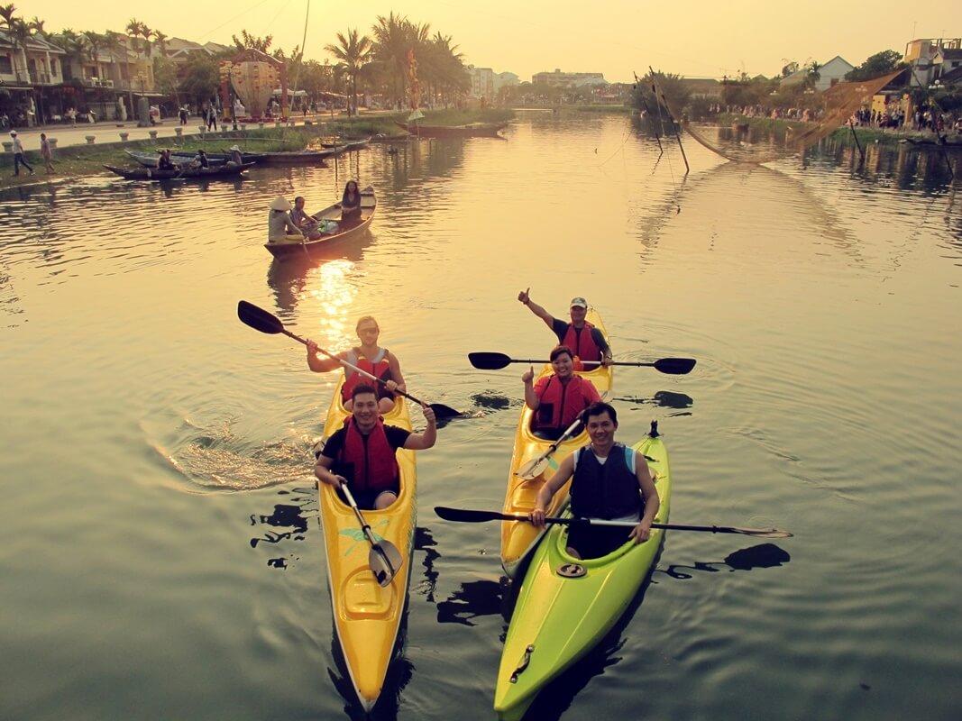 hoi an kayaking tour