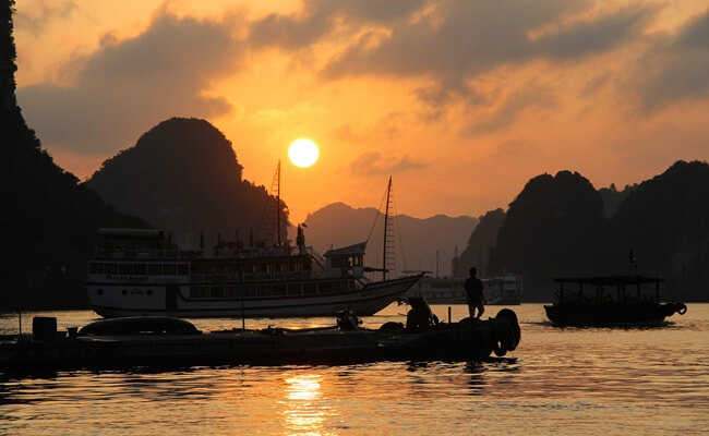 sunset in vietnam 2