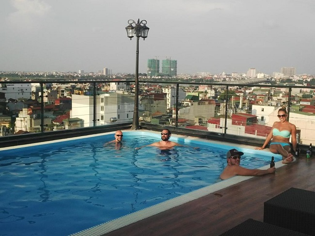 best hotels with pool in Hanoi Old Quarter 13