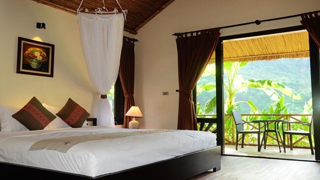 hotels, 7homestays and ecolodges in mai chau