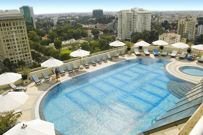 hotel with pool in ho chi minh city 6