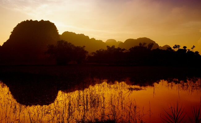 sunset in vietnam 10
