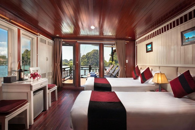 Top 7 Best 4 Star Cruises in Halong Bay 7