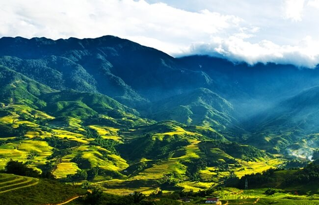 valleys in Vietnam 1