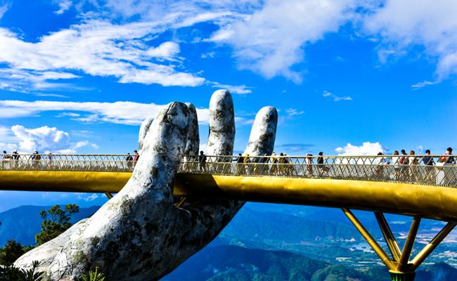 golden bridge ba na hills